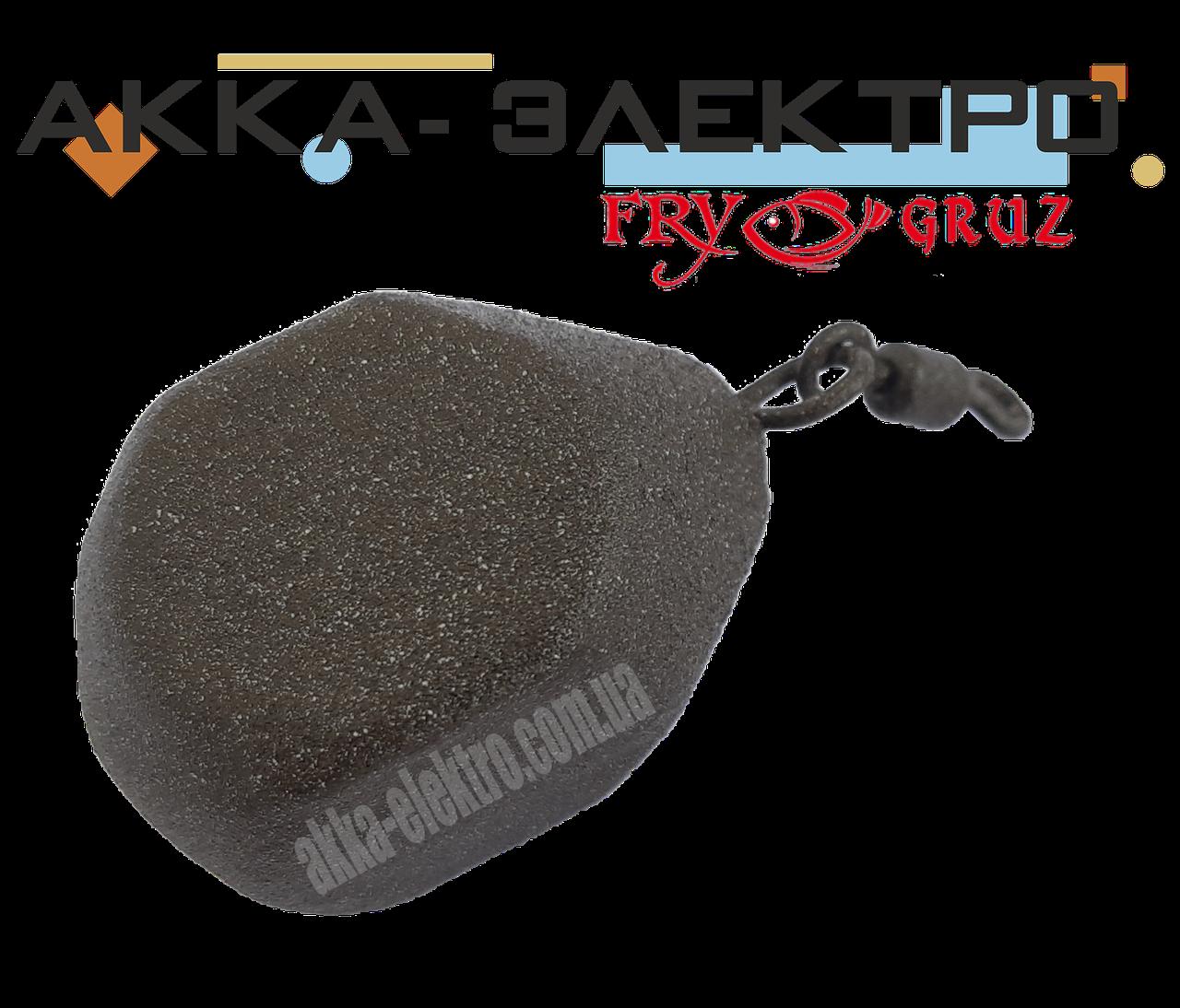 Груз карповый Куб (груша) 120г (10 шт)