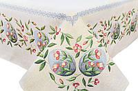 """Скатерть гобеленовая """"Весенние цветы"""", 137*180 см, фото 1"""