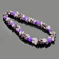 Ожерелье из аметиста
