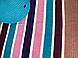 Набор трикотажной пряжи Bobilon для вязания крючком Ковер прямоугольный напольный , фото 3