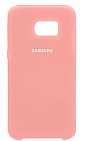 Чехол Silicone Cover Samsung G930 Galaxy S7 (Pink) , фото 1