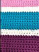 Набор трикотажной пряжи Bobilon для вязания крючком Ковер прямоугольный напольный , фото 4