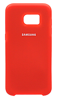 Чехол Silicone Cover Samsung G930 Galaxy S7 (Red) , фото 1