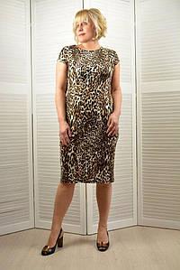 Платье леопард - Модель 1759
