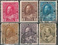 Канада 1911-1925