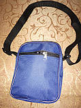 (18*14-маленький)Спортивные барсетка nike Оксфорд ткань сумка для через плечо только оптом, фото 4