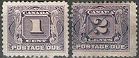 Канада 1906 Postage Due