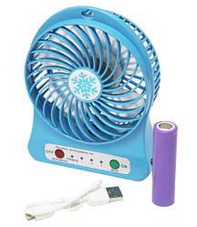 Настольный вентилятор UKC xsfs-01 Blue