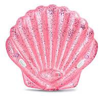 """Детский надувной плотик """"Розовая ракушка"""" intex (57257)"""