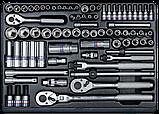 Набор инструментов  в тележке, 152 предмета, фото 3