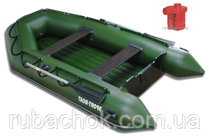 Лодка надувная Sport-Boat N 290LD + Насос электрический Турбинка 12V АС 401