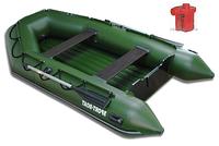 Лодка надувная Sport-Boat N 290LD + Насос электрический Турбинка 12V АС 401, фото 1
