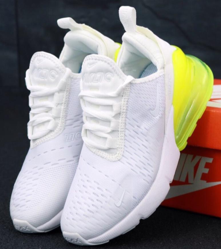 3bfd6bd3 Женские кроссовки Nike Air Max 270 White - купить по лучшей цене в ...