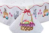 """Скатерть гобеленовая """"Пасхальный кролик"""", 137*240 см, фото 2"""