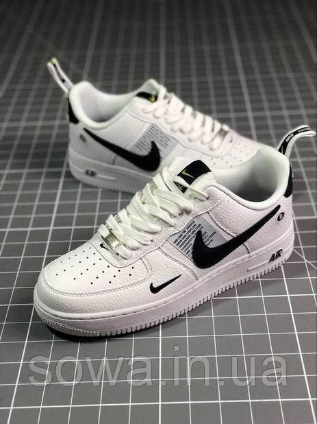 "✔️ Кроссовки Nike Air Force 1 Low Just Do It ""White"""