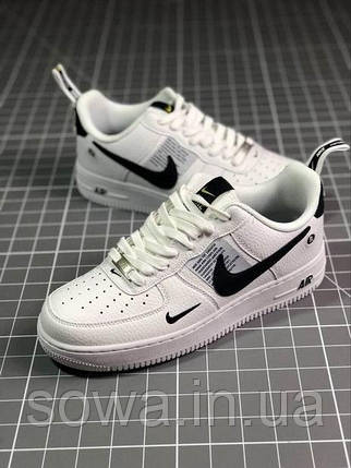 "✔️ Кроссовки Nike Air Force 1 Low Just Do It ""White"" , фото 2"