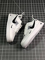"✔️ Кроссовки Nike Air Force 1 Low Just Do It ""White"" , фото 3"