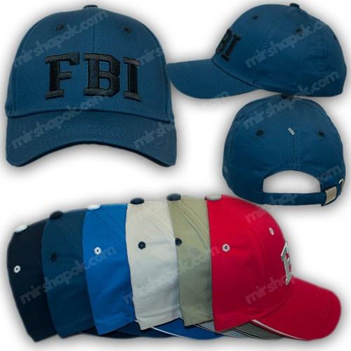 ОПТ Бейсболки детские FBI, р. 54 (5шт/упаковка)
