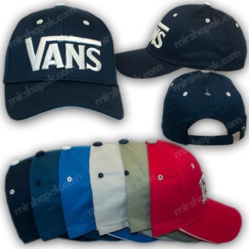 Бейсболки детские с лого Vans