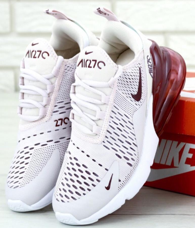 12644637 Женские кроссовки Nike Air Max 270 Pink - интернет-магазин обуви «Walking» в