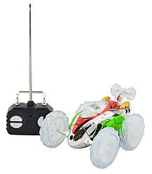 Машинка для трюков на радиоуправлении Dasher Green
