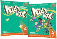 Английский язык / Kid's Box / Pupil's+Activity Book. Учебник+Тетрадь (комплект), 4 / Cambridge