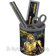 Школьный настольный набор kite tf19-205 круглый transformers bumblebee movie
