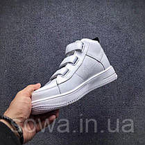 "✔️ Кроссовки Nike Air Force 1 Classic ""White"" , фото 3"