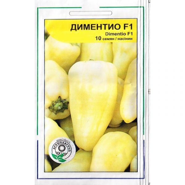 Семена перца раннего, сладкого «Диментио» F1 (10 семян) от Syngenta, Голландия