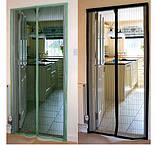 Москитная сетка на дверь Magnetic Mesh - антимоскитная сетка на дверь, фото 7
