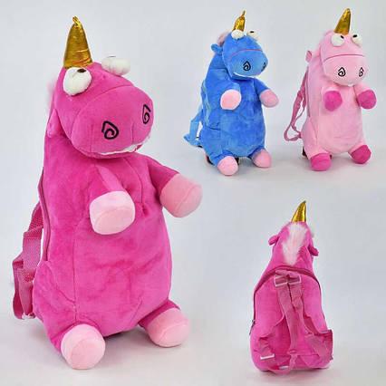 Детский рюкзак C 31206 (120) мягкий, 3 цвета