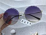 Круглые солнцезащитные очки фиолетовые, фото 8