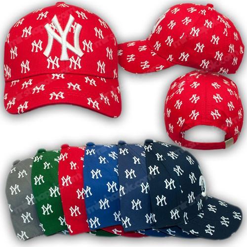 Бейсболка c лого NY, р. 52