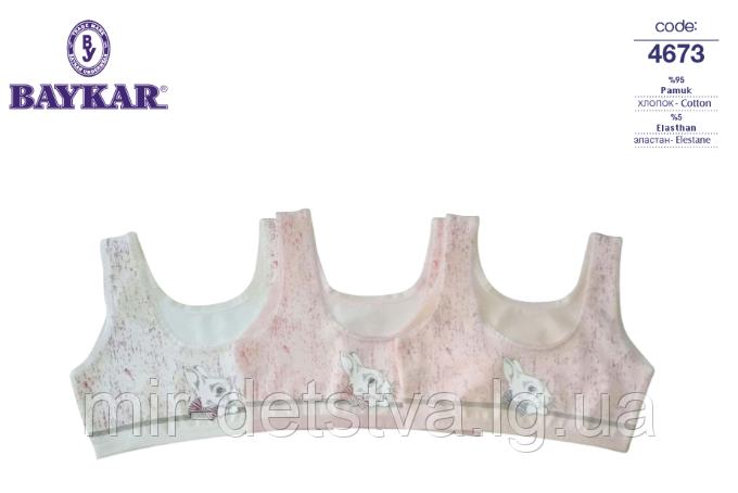 Топик трикотажный для девочки TM Baykar, Турция оптом. Размер 4 (134-140 см)