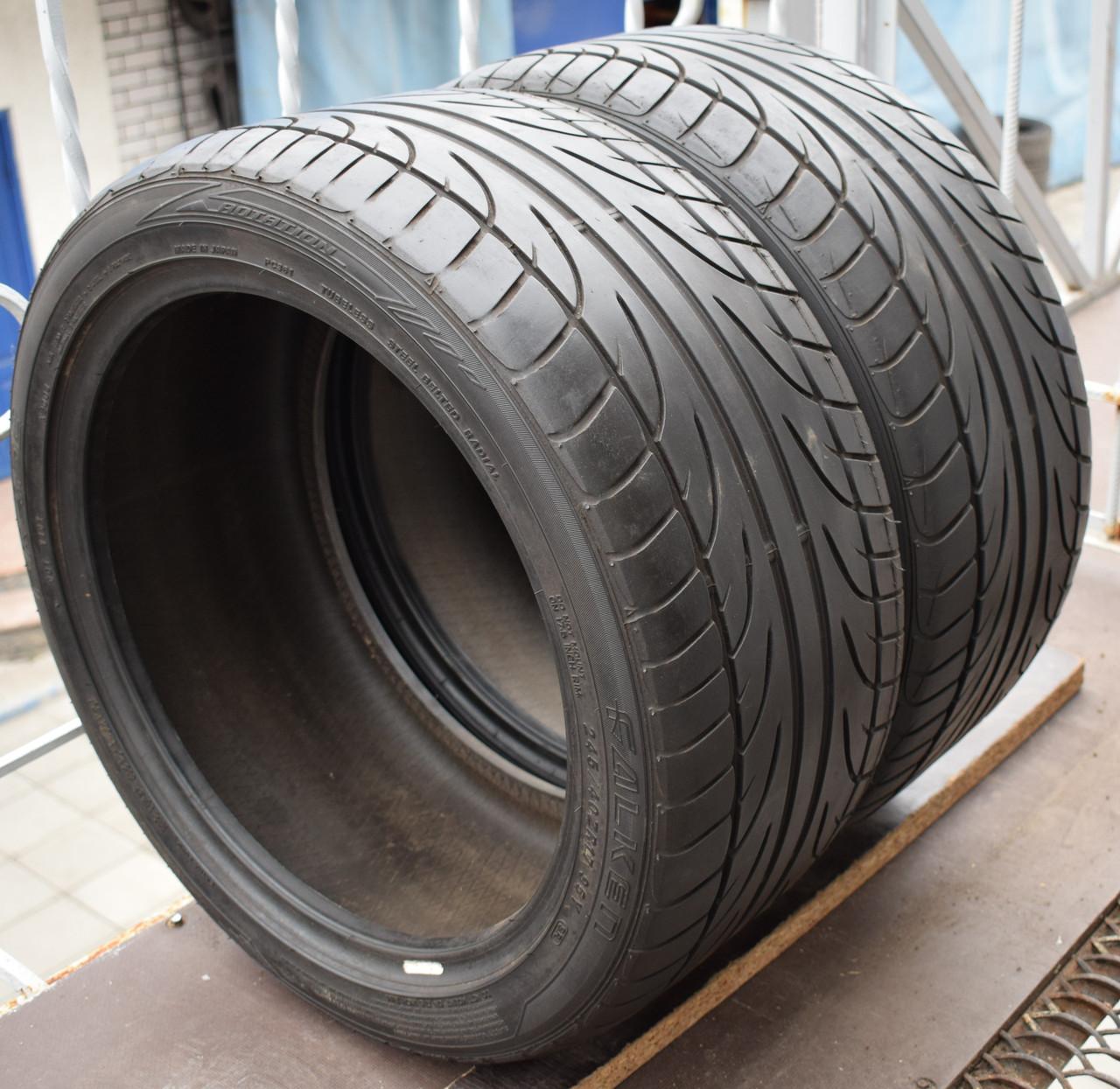 Літні шини б/у 245/40 R17 Falken, пара, 4-5 мм