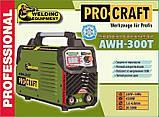 Инверторный сварочный аппарат ProCraft AWH-300T. Сварочный аппарат ПроКрафт, фото 4