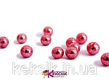 Драже-Рожеве металік 5 мм - 100 гр