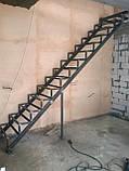 Каркас лестницы под зашивку. Прямая лестница, фото 2