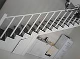 Каркас лестницы под зашивку. Прямая лестница, фото 5