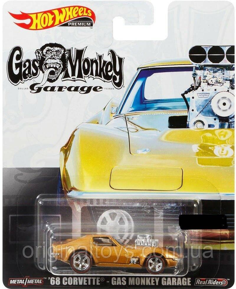 Коллекционная машинка Hot Wheels Corvette-Gas Monkey Garage