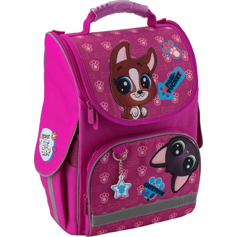 d8ed7f498abb Рюкзак школьный каркасный Kite Education Littlest Pet Shop Пет шоп  (PS19-501S)