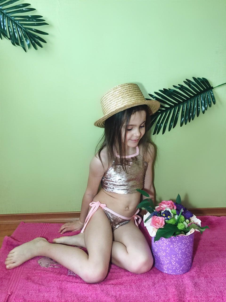 Детский купальник Пайетка 1041,13