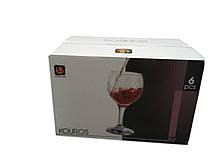 Набор бокалов для вина 210 мл 6 шт стеклянных Kouros UniGlass