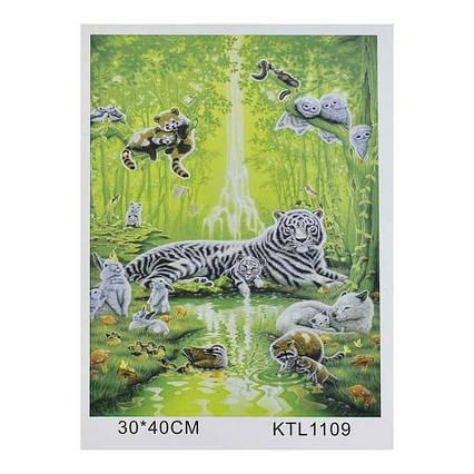 Картина по номерам KTL 1109 (30) в коробке 40х30
