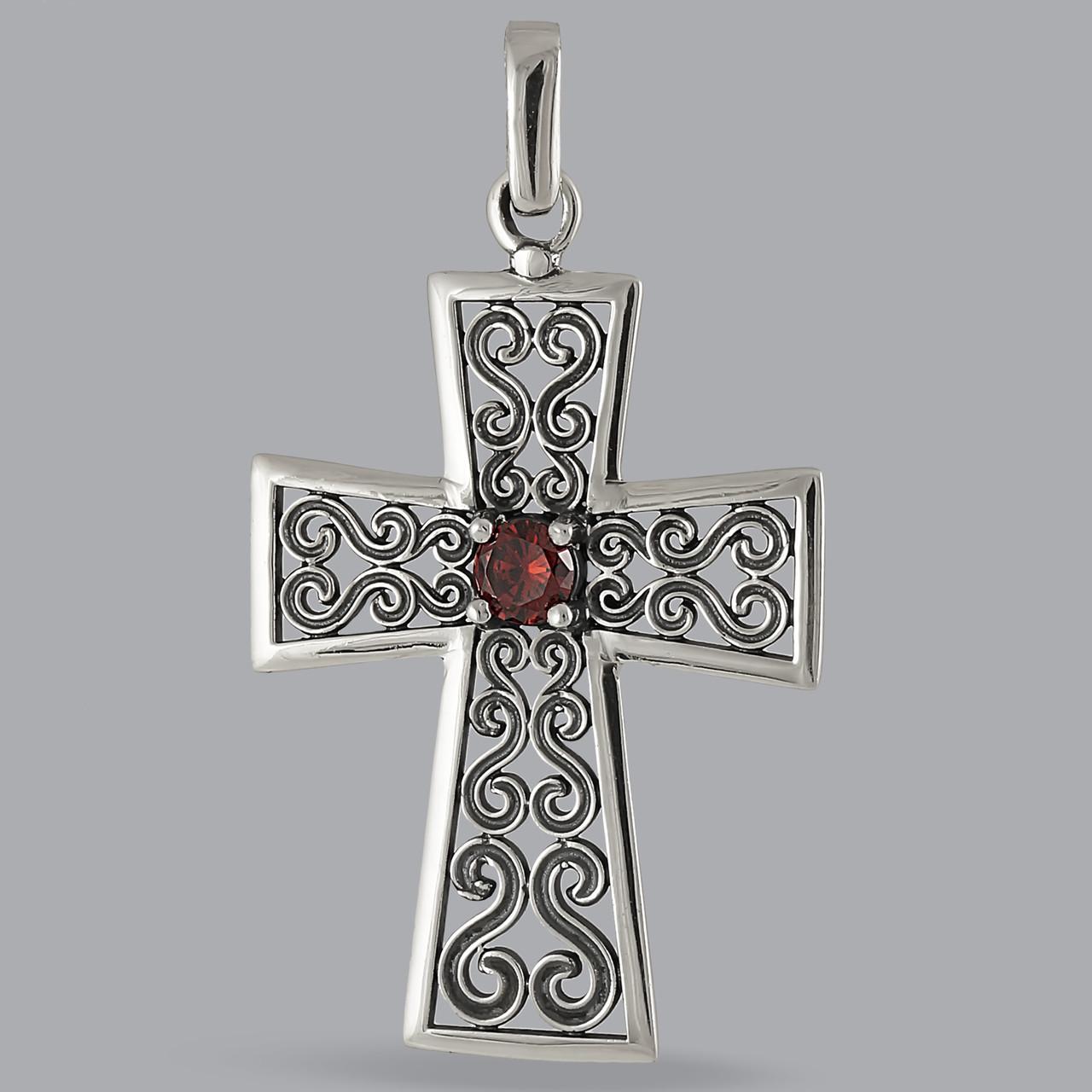 Серебряный Крест 925 пробы арт. 335кр