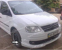 Накладка на передний бампер Volkswagen Caddy 2004+ Губа Кадди