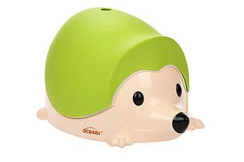 Детский горшок QCBABY Ёжик зеленый QC9903green
