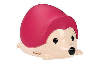Детский горшок QCBABY Ёжик розовый QC9903pink