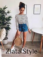 Стильные женские джинсовые шорты