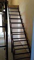 Металлоконструкция лестницы в квартиру или дом, фото 1